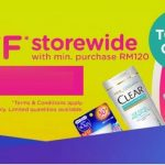 Watsons x Lazada RM30off Storewide! 全店折扣RM30优惠!