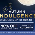 Shopee Autumn Indulgence Deal! ~ 中秋额外优惠折扣!