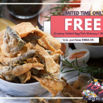 FREE Salted Egg Fish Skin Worth RM35 Giveaway! 请你吃免费咸蛋脆鱼皮!