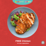 FREE Chicken Meal Giveaway! – 请你吃免费鸡肉套餐!