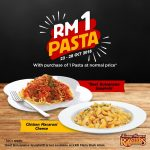 Kenny Rogers ROASTERS Offer RM1 Deal! 优惠一零吉的促销!