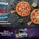 Domino's Pizza Buy 1 FREE 1 Deal Is Back! – Domino's Pizza买一送一优惠回来啦!