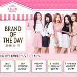 ETUDE HOUSE Special Offer Deals! – 优惠促销,送全店优惠券!