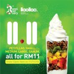 llaollao 11.11 Special Deal All at Only RM11! llaollao 奶酸冰淇淋全场RM11!