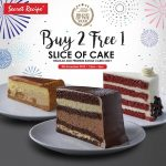 FREE 1 slice of Secret Recipe Cake! – 优惠请你吃Secret Recipe蛋糕!