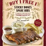 Morganfield's Buy 1 Free 1 Deal! Morganfield's鲜美可口肋骨买1送1优惠!