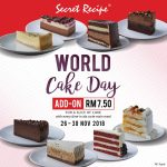Secret Recipe Special Offer Slice Of Cake! Secret Recipe蛋糕特优惠!