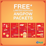 FREE Limited Edition Plus AngPow Packets Giveaway! 免费获取精美限量版红包封!