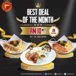 The Manhattan FISH MARKET Offer The Best Deal of The Month! 特优惠促销!