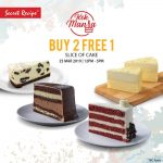 Secret Recipe Kek Mania Promotion! Secret Recipe 蛋糕优惠免费一片蛋糕!