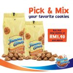 Famous Amos Malaysia Special Offer @ RM1.90! Famous Amos曲奇特优惠!