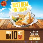 The Manhattan FISH MARKET The Best Deal In Town Is Back! 炸鱼套餐,仅RM10,优惠回来啦!