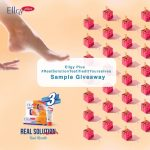 FREE Ellgy Plus Cracked Heel Cream Sample Giveaway! 免费Ellgy Plus脚跟龟裂膏试用样品!