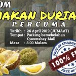 FREE Durian Treat Giveaway! 免费吃榴莲!