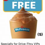 FREE McDonald's Toy & Gift Card & McFreeze Drink Deal!免费麦当劳赠品,玩具,礼物卡,McFreeze冰沙饮料!