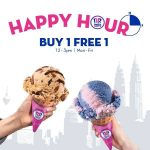 Baskin-Robbins Buy 1 FREE 1 Deal! Baskin-Robbins 冰淇淋买一送一优惠活动!