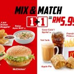 Mcdonald's Mix & Match Promo Is Back! 麦当劳Mix & Match优惠回来啦!