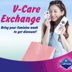 FREE Libresse Discount Voucher & Sample Pack of V-Care Liners and Wipes Giveaway! 免费折扣券和卫生棉/湿巾样品!