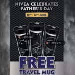 FREE Nivea Limited Edition Travel Mug Giveaway! 免费Nivea限量版旅行杯!
