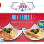 The Manhattan Fish Market Buy 1 Free 1 Promo! 买一送一优惠促销!