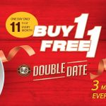 OLDTOWN White Coffee Buy 1 FREE 1 Promo!OLDTOWN白咖啡主餐买一送一优惠!