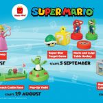 FREE McDonald's Super Mario Toys Collection Giveaway! 收集免费麦当劳马里奥玩具!