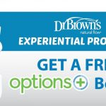 FREE Dr. Brown's Options+ Anti Colic Bottle Giveaway! 送你 Dr. Brown's 婴儿奶瓶!