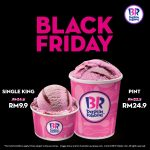 Baskin-Robbins Black Friday Time Again! Baskin-Robbins冰淇淋黑色星期五优惠促销!