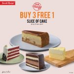 FREE 1 Slice Secret Recipe Cake Deal Is Back! 优惠,请你吃免费一片蛋糕哦!