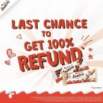 FREE Kinder Bueno Chocolate Bar Giveaway! 请你吃免费巧克力棒!