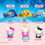 FREE Beyblades And Hello Kitty Toys Giveaway!送你麦当劳陀螺和凯蒂猫玩具!