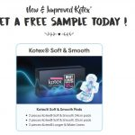 FREE Kotex New Soft & Smooth Sample Pack Giveaway! 免费卫生棉试用样品!