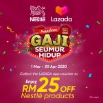 FREE Nestle RM 25 OFF Voucher Giveaway! 索取免费 雀巢RM25 折扣券!