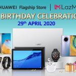Huawei Flagship Store 6th Birthday Promo!庆华为旗舰店成立6周年,优惠促销+送免费赠品!