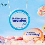 Mentos Limited Edition,Innisfree No Sebum Mineral Powder 5g, innisfree 限量控油散粉,6款糖果彩虹色,简直是太甜美啦!