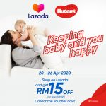 Huggies FREE RM15 Discount Voucher to Collect!获取免费Huggies尿片RM15 的折扣券!