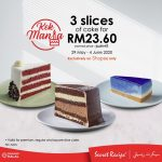 Secret Recipe Kek Mania Promotion! Secret Recipe Kek Mania盛典强势回归啦!