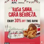 Get KFC Extra 30% OFF Deals! 额外30%折扣哟!