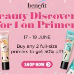 Benefit The POREfessional Face Primer Promotion! 1-FOR-1促销!半价!