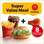 McDonald's New Super Value Meal Is Back!麦当劳全新超值优惠套餐回来啦!还免费附送一个额外食品!