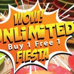 Sakae Sushi Unlimited Buy 1 FREE 1 Promo! Sakae寿司无限量,买一送一优惠!