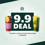 Starbucks 9.9 Deals ! 星巴克咖啡双9优惠,一杯只要RM9.90!