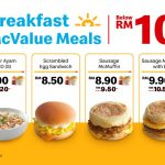 McDonald's New Breakfast Menu Is Here! 麦当劳全新的早餐Menu,价钱不到RM10!