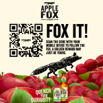 FREE Apple Fox Cider Giveaway! 免费喝Apple Fox Cider饮料!
