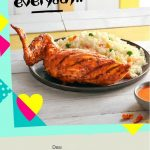 FREE Nando's 1/4 Chicken With Mediterranean Rice Giveaway!  请你吃免费烤鸡肉块!