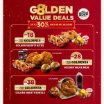 KFC CNY G8LDEN Value Deals! 肯德基牛年特优惠!
