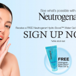 Neutrogena Hydro Boost Water Gel Sample Giveaway! 免费保湿试用品,寄到你家!