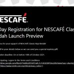FREE Nescafe Mystery Gift Giveaway!